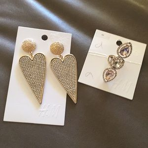 H&M earring and ring bundle.